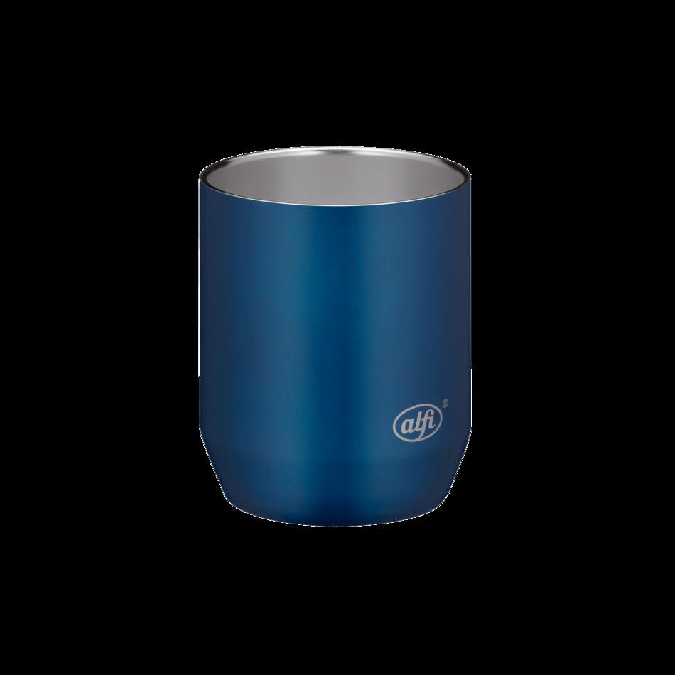 city drinking mug blue